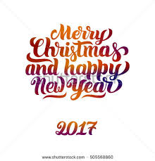merry happy new year 2017 stock vector 505568866
