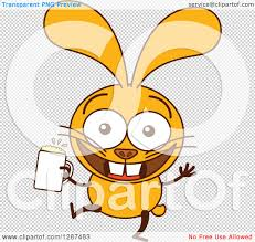 cartoon beer no background clipart of a cartoon yellow rabbit dancing and holding a beer