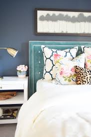 Diy Tufted Headboard Incredible Navy Tufted Headboard And Tov Furniture Toveden Queen