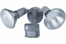 solar motion detector flood lights heath zenith sl 5411 gr c 150 degree motion sensing twin flood