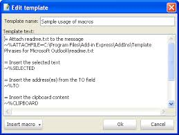 download the latest version of template phrase for outlook free in