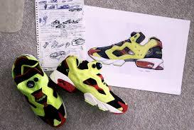 sneaker designer the history of the reebok instapump fury with designer steven