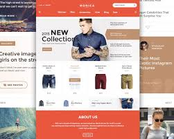 free creative fashion ecommerce website template free psd at