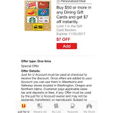 gift card offers safeway hot gift card offers just4u