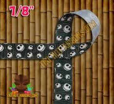 nightmare before christmas ribbon the nightmare before christmas 1 grosgrain ribbon by the 3