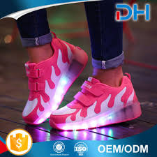 ladies light up shoes fashion usb change led light up shoes ladies led shoes female