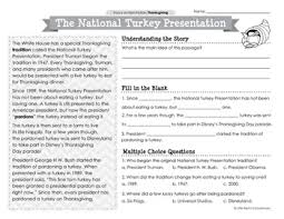 thanksgiving reading passages by littlered teachers pay teachers