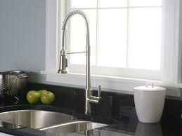 kitchen faucet likable industrial style kitchen design