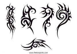 easy tattoos for guys small tribal