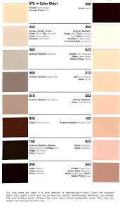 Eljer Toilet Bemis Toilet Seats Color Chart