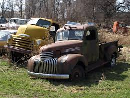 Vintage Ford Truck Salvage Yards - private junkyard tour divco diamond t ford chevy etc etc