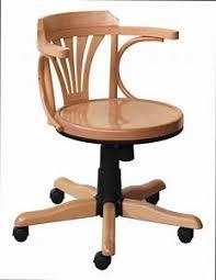 fauteuil de bureau en bois pivotant chaise de bureau bois table rabattable cuisine chaise bureau