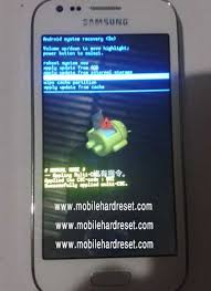 reset samsung ace 3 how to factory reset samsung galaxy ace 3 smartphone
