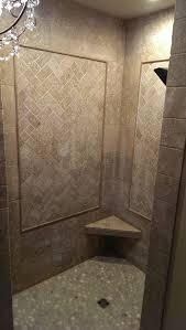 Open Bathroom Concept by Openr Bathroom Accent Tile Natural Design No Door Small Ideas