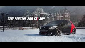peugeot 208 gti new peugeot 208 gti 30th film the legend returns visualfx hub