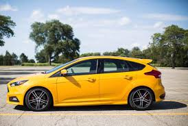 ford focus st yellow review 2016 ford focus st ny daily