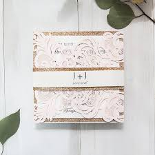 blush and gold wedding invitations top 10 wedding color scheme ideas for 2018 trends gold