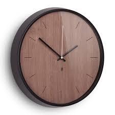 buy umbra madera wall clock amara