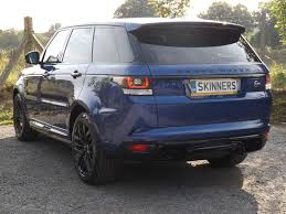 used range rover for sale used 2016 land rover range rover sport v8 svr for sale in rye east
