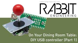 building a diy usb controller part 1 on your dining room table