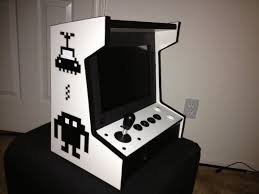 Table Top Arcade Games Spare Tablet Pc Converted Into Awesome Mini Tabletop Arcade
