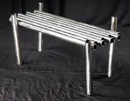 Black Pipe Coffee Table - pipe coffee table arts crafts and design finds