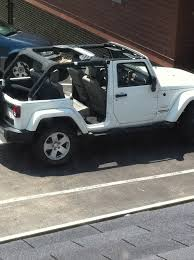 jeep wrangler 4 door top off show off your white jk jeep wrangler forum
