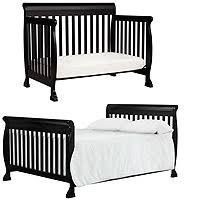 Black 4 In 1 Convertible Crib Davinci Kalani 4 In 1 Convertible Crib With Toddler Rail