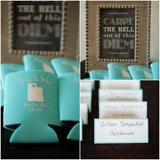 koozie wedding favor destination mountain wedding rustic wedding chic