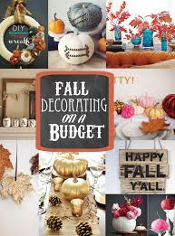 Fall Decorating Ideas On A Budget - diy fall decorating on a budget soho sonnet creative living