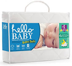 hello baby waterproof crib mattress cover quilted ultra soft