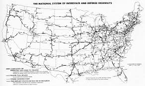 Map Of Usa With Highways by File Interstate Highway Status Unknown Date Jpg Wikimedia Commons