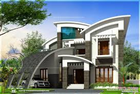 free modern house plans contemporary style home plans in kerala awesome ultra modern house