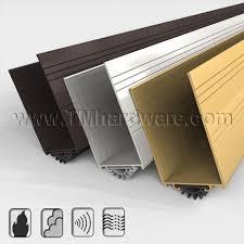 Exterior Door Kick Plate Door Shoe Sweep With Kick Plate To Protect Doors Fitted With