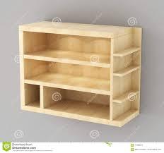 lo scaffale lo scaffale di esposizione di legno con illuminazione ha appeso