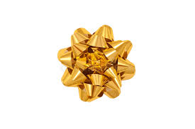 gold gift wrap color image of a gold gift wrap bow stock photo image of golden