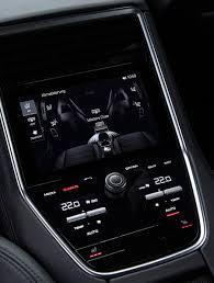 porsche panamera dashboard porsche panamera 2017 rear clim display car interface