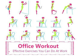 Office Exercises At Your Desk Office Chair Exercises Office Design