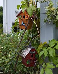 handmade wooden birdcage outdoor and retro gardening birdnest