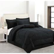 King Black Comforter Set Black Comforters