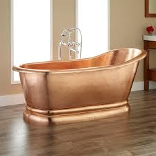 Pedestal Tub Paxton Polished Copper Slipper Pedestal Tub Copper Tubs