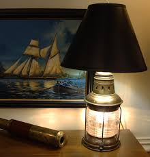 Nautical Table Lamps National Marine Co Lantern Table Lamp Skipjack Nautical Wares