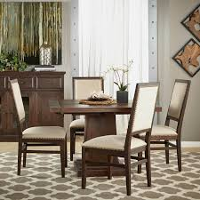 Java Dining Table Orient Express Furniture Traditions Hudson Rustic Java Square 5