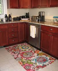Floral Runner Rug Kitchen Beautiful Black And White Kitchen Mat Runner Rugs Anti
