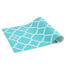 blue quatrefoil wallpaper lockerlookz aqua glitter quatrefoil from swoozie s