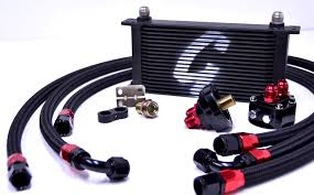 the procedure of how to install engine oil coolers car from japan