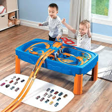 wheels world play table childs play table plans dressing wheels car track with drawers