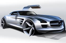 mercedes prototype mercedes sls amg concept cars diseno