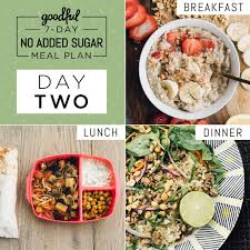 here u0027s a 7 day no added sugar meal plan that u0027s actually doable