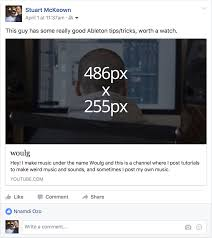 Share Image Png by Guide To All Facebook Image Sizes In 2017